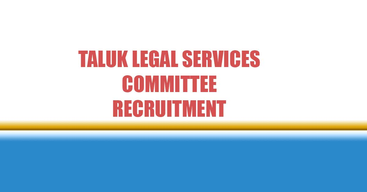 taluk legal services committee