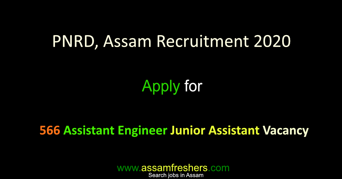 PWD, Assam Recruitment 2020 11 Assistant Architect Vacancy